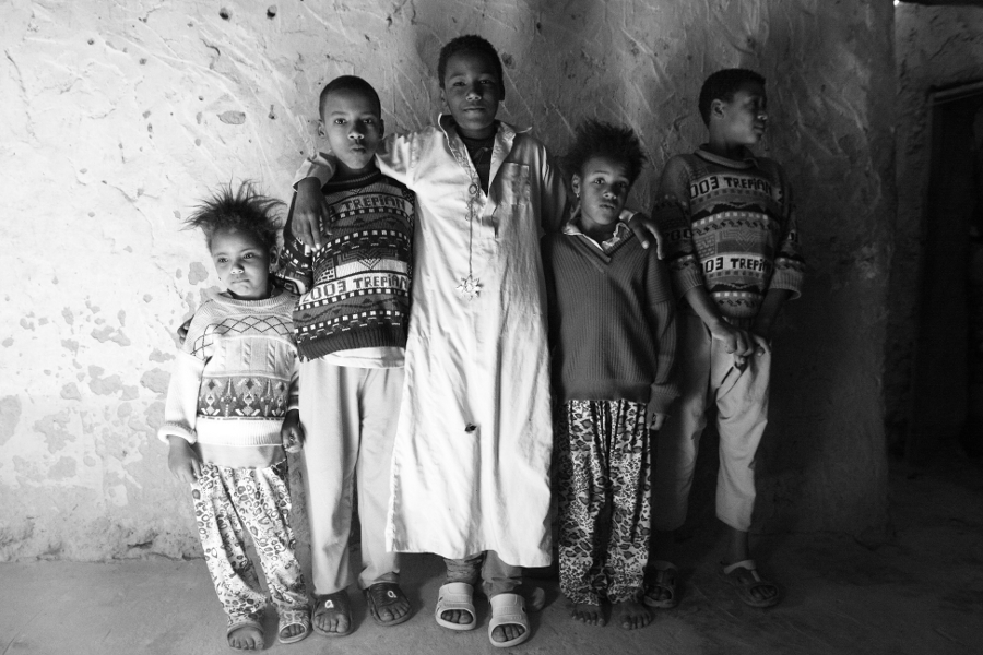 children in Siwa